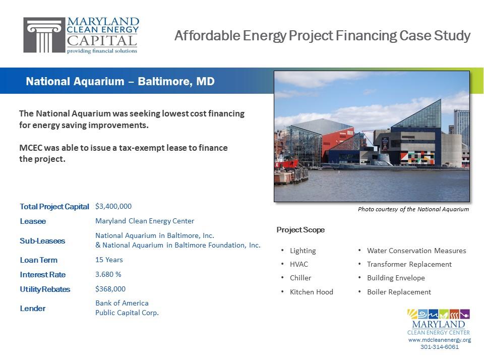Case Studies – Maryland Clean Energy Center