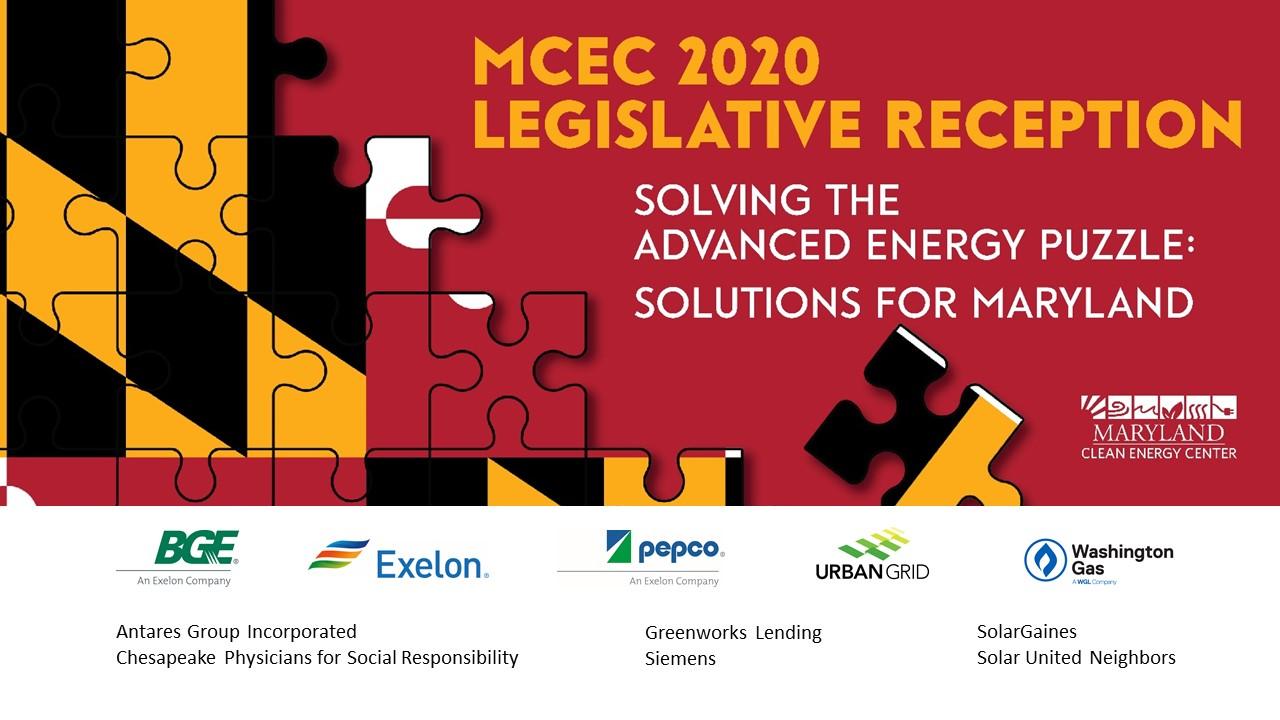 Legislative Reception 2020 Sponsors